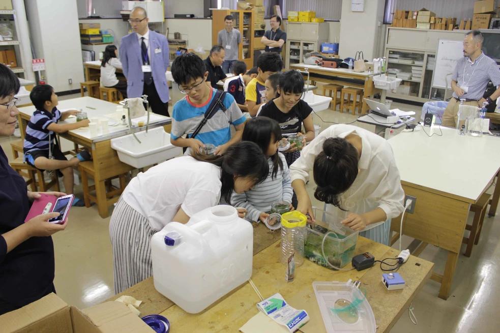 「作って学ぶ、地球環境と海の生態系」~地球を救う海のはたらき~」Image
